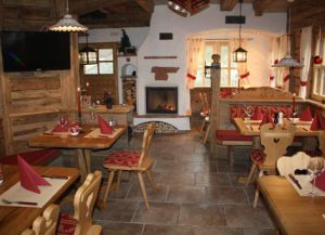 Restaurant Hot Stone Chalet внутри