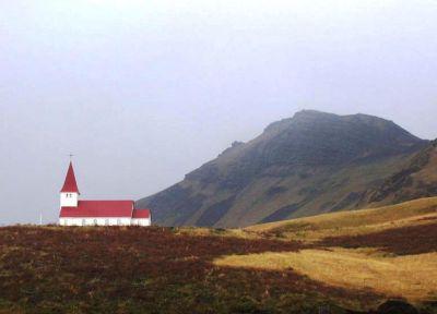 Церковь в деревне Вик