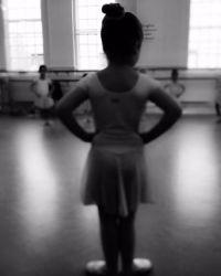 Харпер ходит в балетную школу