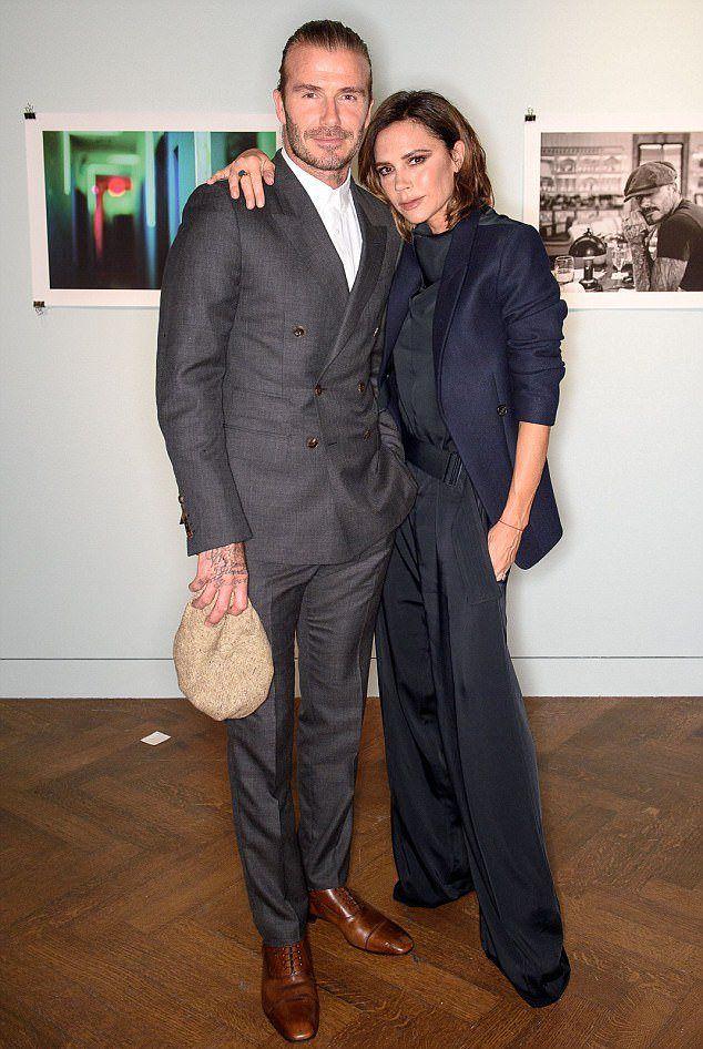 Виктория Бекхэм с мужем Дэвидом Бекхэмом