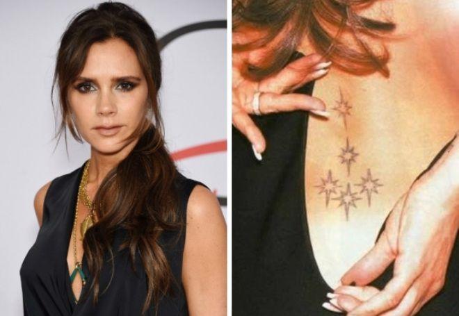 Victoria Beckham Tetování 3