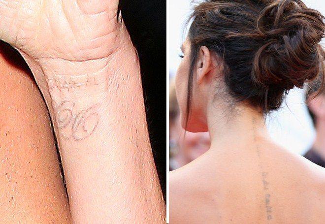 Victoria Beckham Tattoo 14