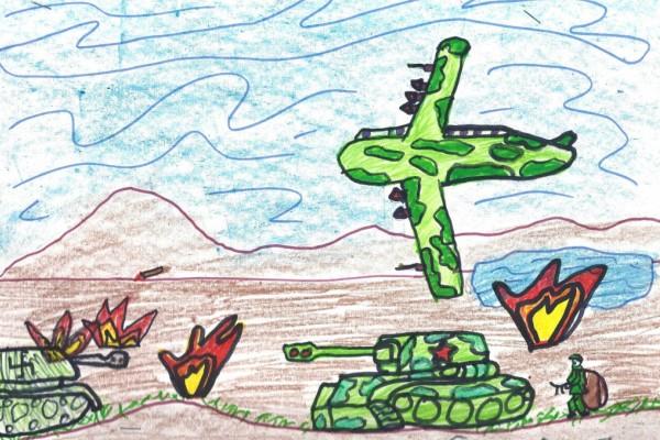 Дан победе кроз очи цртежа деце 2