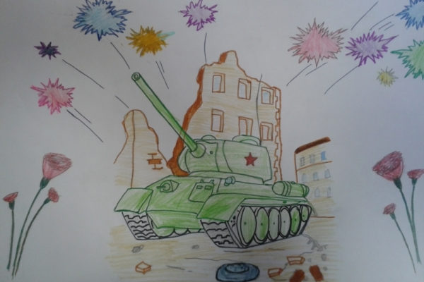 Дан победе кроз очи цртежа деце 7