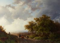 В коллекции есть пейзажи кисти Баренда Корнелиса Куккука
