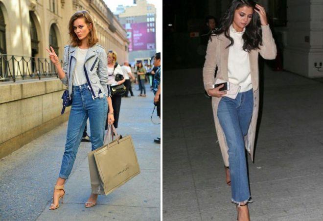 джинсы в винтажном стиле