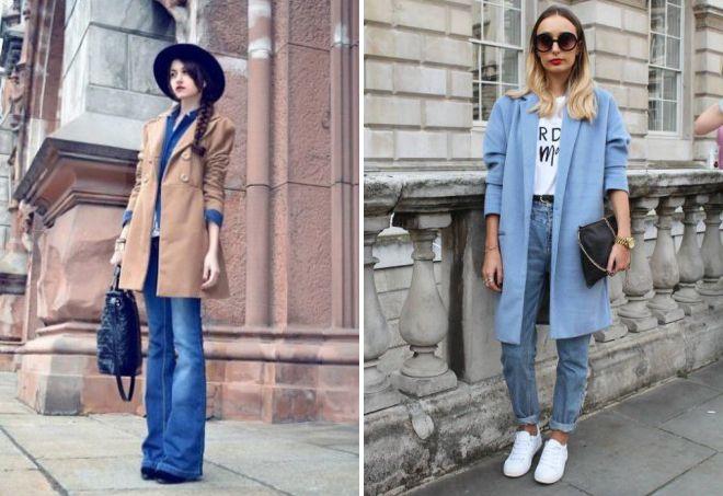 джинсы в стиле винтаж