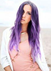 светло љубичаста боја косе