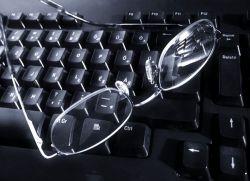 niewyraźne widzenie z komputera
