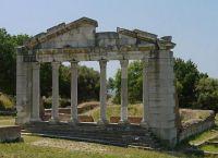 Руины античной Апполонии
