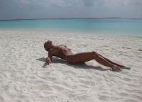 Voloshkova photosession na Malediwach 2013 5