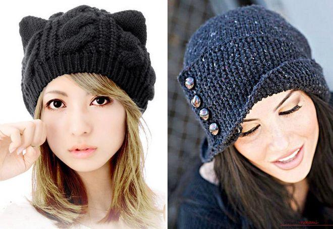 объемные шапки