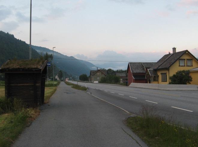 Автобусная остановка Восс