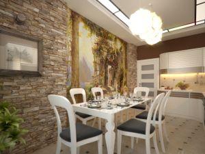 1. Malowanie ścian w kuchni