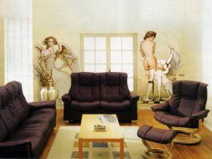 8. Malowanie ścian w salonie