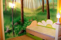 Malowanie ścian w pokoju dziecięcym2