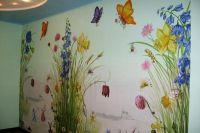 Malowanie ścian w pokoju dziecięcym4