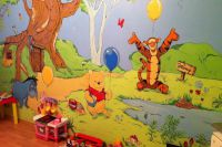 Malowanie ścian w pokoju dziecięcym 6