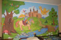 Malowanie ścian w pokoju dziecięcym7