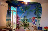 Malowanie ścian w pokoju dziecięcym8