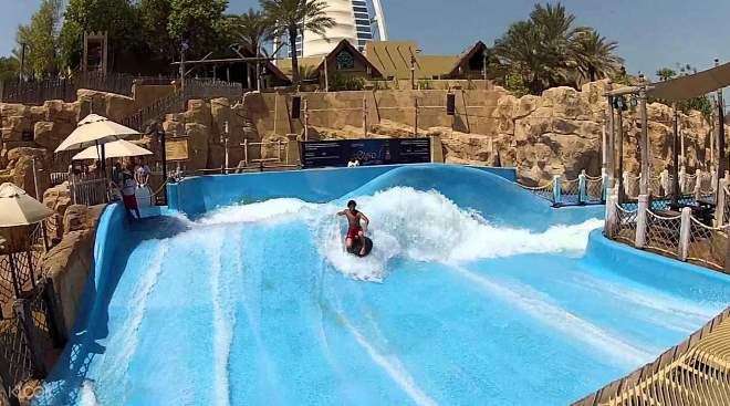 Развлечения в аквапарке Wild Wadi