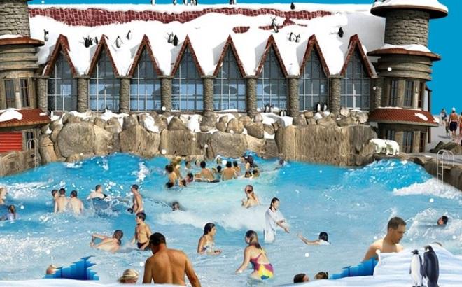 Ледяной аквапарк