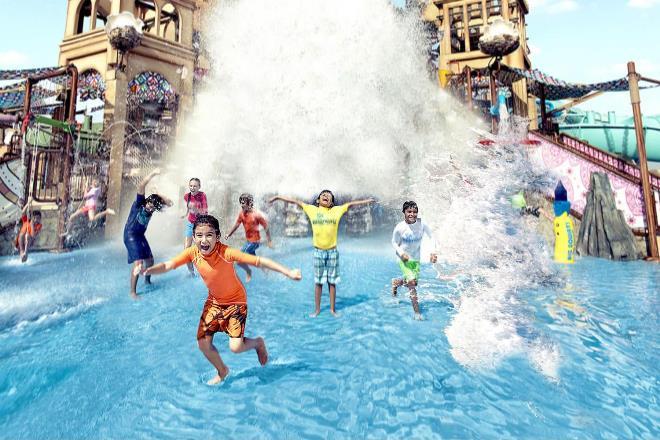 Веселье в аквапарке Яс
