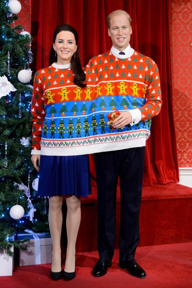 Кейт Миддлтон и принц Уильям примерили один свитер на двоих