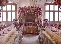Тенденции в сватбената флористика 20163