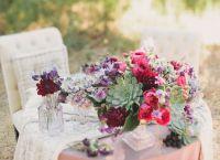 Тенденции в сватбената флористика 20167