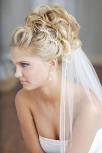 Svatební účesy se závojem 2014 4