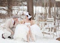 zimowe wesele sesja zdjęciowa ideas1