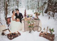 zimowe wesele sesja zdjęciowa ideas2