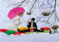 zimowe wesele sesja zdjęciowa ideas4