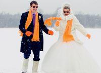 zimowe wesele sesja zdjęciowa ideas8