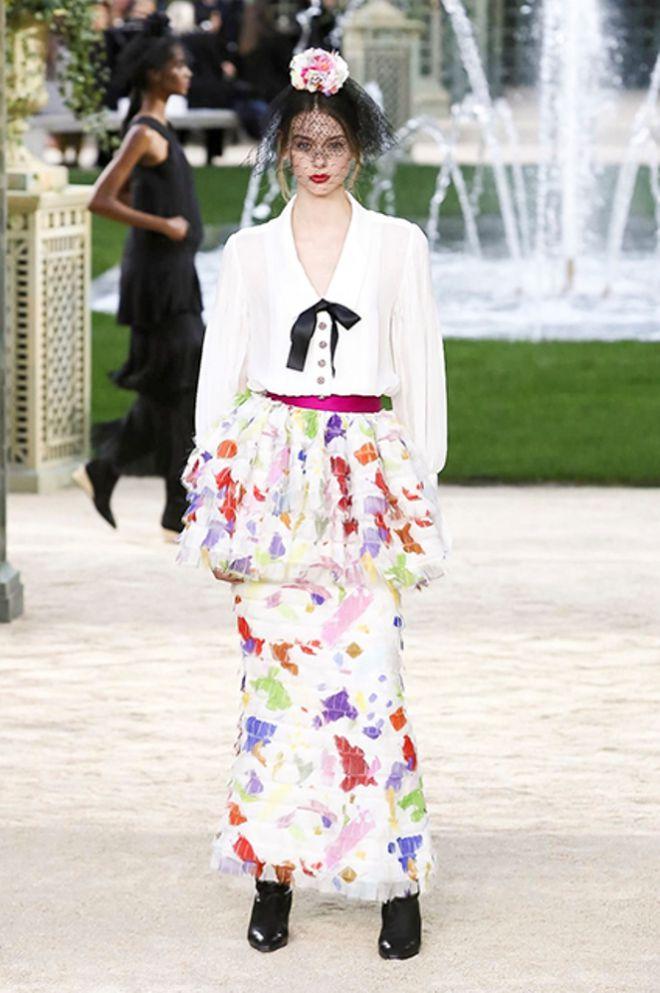 Коллекция Chanel весна-лето 2018