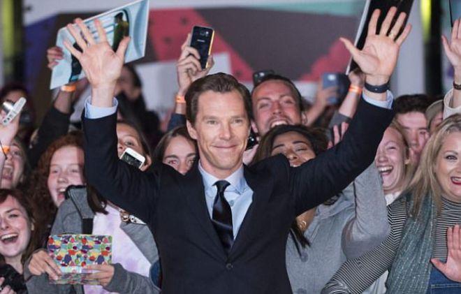 Бенедикт Камбербэтч на кинофестивале в Торонто