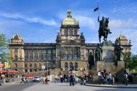 Wenceslas Square u Pragu1