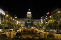 Wenceslas Square u Pragu2