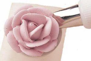 розы из мокрого безе мастер класс 10