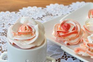 розы из мокрого безе мастер класс 11