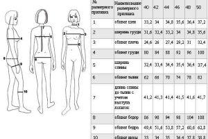 jaké jsou velikosti oblečení2