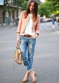 co můžete nosit s džíny 1