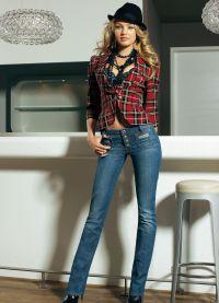 co můžete nosit s džíny 3
