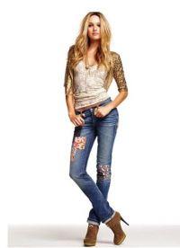 co mohu nosit s džíny 6