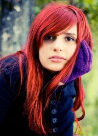 jaké barvy jdou červené dívky 8