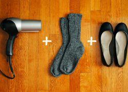 co dělat, když boty jsou těsné 1