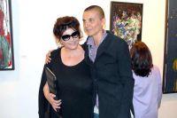 Художница Розалинда Челентано с мамой