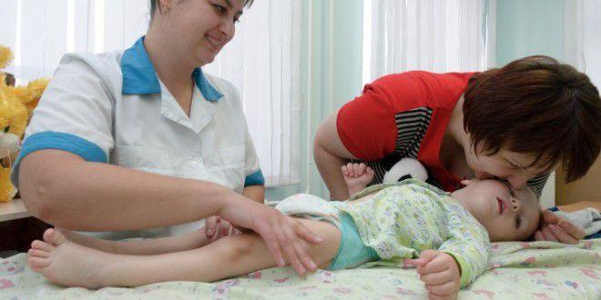 Массаж-при детском церебральном параличе