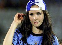 Наталья Орейро фанатка футбола